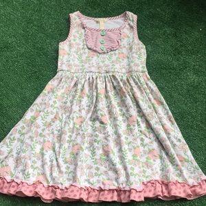 Girls Sz 10 Matilda Jane sleeveless dress sun rfl